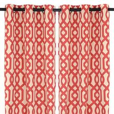 Just bought these curtains today for Joey at kirklands!!..cannot wait to hang them and give the house a pop of color!!!!