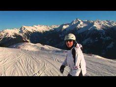 Daniel Stock führt durch das Finkenberger Skigebiet