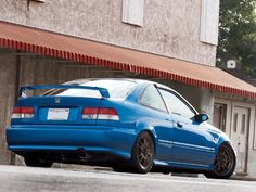 1999 Honda Civic Si [EM1] nice project car http://extreme-modified.com/