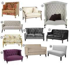 small spaces sofa alternatives  http://www.apartmenttherapy.com/small-space-sofa-alternatives-10-settees-loveseats-178167#