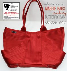 Maggie Bags Butterfly Bag Giveaway #FashionistaEvents