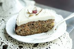 Apple Harvest Cake has 1 cup of shredded zucchini included.  It is delicious.