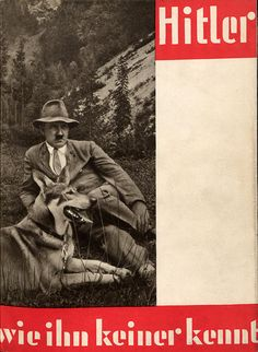 The cover of a book by Heinrich Hoffmann shows Hitler with a view of his mountain estate on the Obersalzberg. Hitler helped design the renovated villa and often hosted guests, including journalists and prominent statesmen, at this residence in the 1930s. Credit: Heinrich Hoffmann, courtesy of Bavarian State Library.