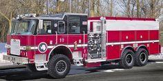 1990 Pierce Dash 4x4 Antarctic Fire Dept. Off-Road Fire Engine