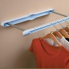 Hang U0027N Hide Wall Mounted Garment Rack