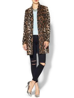 Piperlime Leopard Coat $159