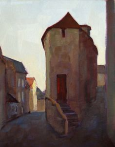 Corner House / Rodgers Naylor / Art Size: 11 x 14 / oil on panel