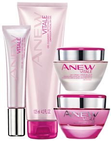 Love Your Morning Face Anew Vitale for age 30+ Q: Is Anew Vitale right for me? Anew Vitale is designed for you if…  A: You are 30+ with a busy, hectic life that doesn't let you get enough sleep.  A: You may be concerned that your skin is starting to show signs of fatigue, like dullness, puffy eyes, and uneven texture.  A: You could have any skin type. www.interavon.ca/ashley.wohlgemuth