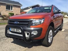 Our customer Maurice is chuffed with the new black bull bar/A bar on his Ford Ranger, makes it look meaner i think! #Ford #Ranger #Pickup #4x4
