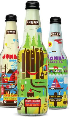 Jones Soda Package Design