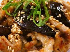 娘に伝えたい*豚となすの胡麻味噌炒め*の画像 Vegan Recipes Easy, Pork Recipes, Asian Recipes, Cooking Recipes, Japanese Eggplant Recipes, Japanese Dishes, Japanese Food, Easy Eat, How To Cook Pork