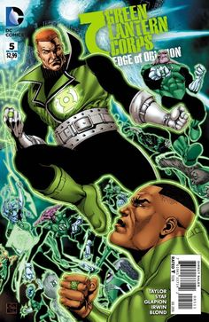 Green Lantern Corps featuring John Stewart, Guy Gardner, and Kilowog