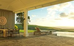 Lodge at Kauri Cliffs, winner of Fodor's 100 Hotel Awards for the Luxurious Retreat category #travel