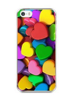 Capa Iphone 5/S Corações - SmartCases - Acessórios para celulares e tablets :)