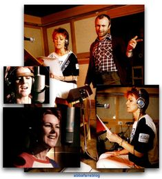 """Frida started recording her solo album """"Something's Going On"""" with Phil Collins today in 1982... #Abba #Frida #PhilCollins http://abbafansblog.blogspot.co.uk/2017/02/15th-february-1982.html"""