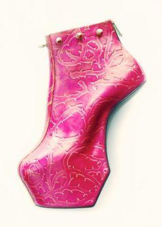 Noritaka Tatehana-the guy that makes Gaga's heeless shoes #shoes