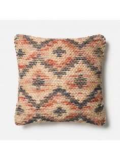 Forester Pillow, Coral