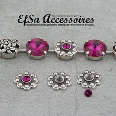 Metal accessories for 14mm Cup Chains. 10 pieces. by EfSaDesign