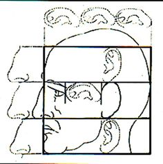 drawing face proportions - Google Search Do you want to learn about facial aging & rejuvenation? www.aaronstonemd.com400 × 405Search by image Facial proportions were studied by Leonardo da Vinci. In his drawings he made portions of the face proportional to the ears, nose or eyes (Fig 1).