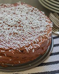 Coconut Flour Chocolate Cake Recipe on Food & Wine