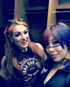 """53.4k Likes, 205 Comments - Rebecca Quin (@beckylynchwwe) on Instagram: """"Great time tagging with the @wwenxt champion @wwe_asuka this week. Picking up wins. Throwing down…"""""""