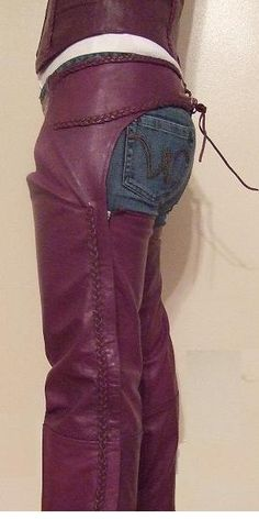 Found the Motorcycle Purple chaps