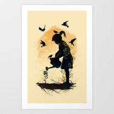 Inner Nature Art Print by Azrhon - $16.12