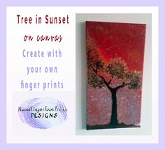 Sunset Tree on Canvas ‹ hffpdesigns.com ‹ Reader — WordPress.com