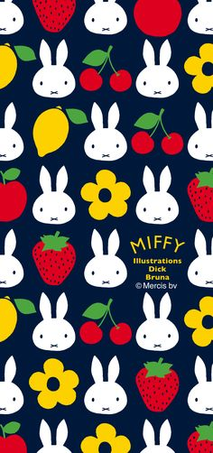 Ipad Background, Hello Kitty Images, Miffy, Baby Prints, Pattern Wallpaper, Illustrations Posters, Painting & Drawing, Illustrators, Iphone Wallpaper