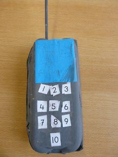 De portofoon groep 1 getallen tot 10 ordenen