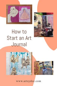 If you haven't tried art journaling now is the time to start! Read this article on how to start an art journal for beginners for tips and tricks to get you on your way! Artist Sketchbook, Sketchbook Pages, Art Journal Pages, Junk Journal, Art Journaling, Creative Crafts, Fun Crafts, Paper Crafts, Art Journal Inspiration