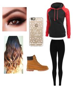 """""""Untitled #3"""" by mburnside on Polyvore featuring M&S Collection, Timberland and Casetify"""