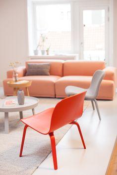 Muuto in Copenhagen via - Holly Becker . Danish designer furniture by Muuto.