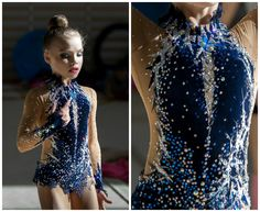 Rhythmic gymnastics leotard (photos by Matveev)
