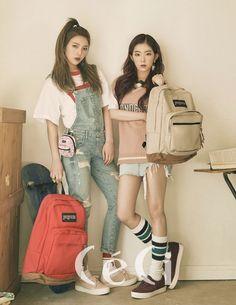 Red Velvet's Joy and Irene Model with CeCi Photoshoot Seulgi, Red Velvet アイリーン, Red Velvet Irene, Velvet Style, Kpop Fashion, Korean Fashion, Womens Fashion, Ulzzang Fashion, Kpop Girl Groups