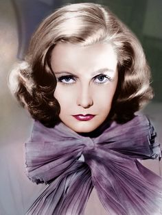 Greta Garbo - Greta Lovisa Gustafson - 1905/1990 - Actrice suédoise - La reine Christine/Anna Karénine/Le roman de Marguerite Gautier