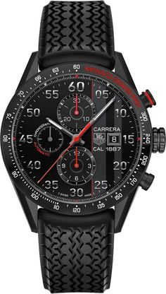 TAG Heuer Watch Carrera Monaco Grand Prix Limited Edition #bezel-fixed #bracelet-strap-rubber #brand-tag-heuer #case-material-titanium #case-width-43mm #chronograph-yes #date-yes #description-done #dial-colour-black #gender-mens #limited-edition-yes #luxury #movement-automatic #official-stockist-for-tag-heuer-watches #packaging-tag-heuer-watch-packaging #style-sports #subcat-carrera #subcat-limited-editions #supplier-model-no-car2a83-ft6033 #warranty-tag-heuer-official-2-year-guarantee…