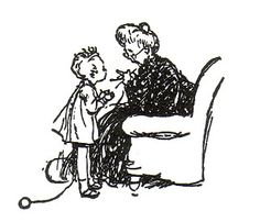 E. H. Shepard - Missing - When We Were Very Young - 1924