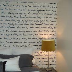 #fabric wallpaper #DIY removable wallpaper
