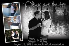 Announcements - Save The Date - Wedding