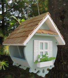 Looking for gifts for bird lovers? Find gifts for bird watchers, including bird feeders, birdbaths, bird houses, suet feeders and gifts for wildlife lovers. Bird House Feeder, Diy Bird Feeder, Bird Boxes, Outdoor Living, Outdoor Decor, Fairy Houses, Yard Art, Beautiful Birds, Birdhouse