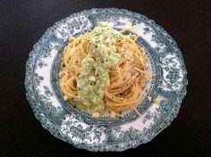Courgette (Zucchini), Feta and Almond Pesto - The Foodie Corner