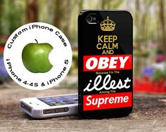 Keep Calm Obey Illest Supreme