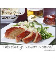 Brown Sugar Meatloaf. #yum