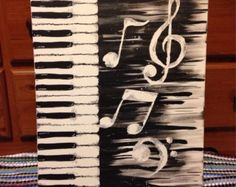 Abstract Music by crystalmchavezart on Etsy
