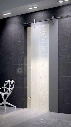 ~frameless sliding glass door