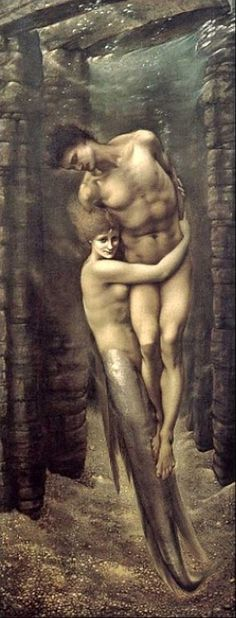 The Depths of the Sea, 1886 by Edward Burne Jones