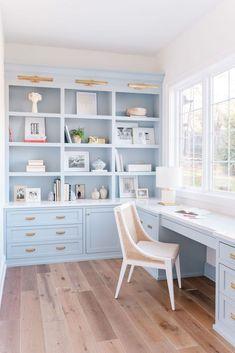 Cozy Home Office, Home Office Space, Home Office Design, Home Office Decor, House Design, Home Decor, Office Designs, Office Style, Office Ideas
