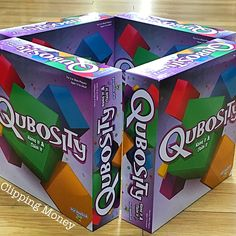 #Qubosity is a think-fast, fun party game! This game is available at #ToysRUs! @playmonsterfun #SocialSpotters #ad
