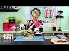 Heidi Swapp:  Interactive Scrapbook Pages (2:30 flip flaps | 3:30 flip up, multiples | 4:00 create pocket/sleeve | 5:00 memory file holds multiple photos)